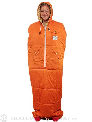 Poler The Nap Sack Sleeping Bag Orange MD