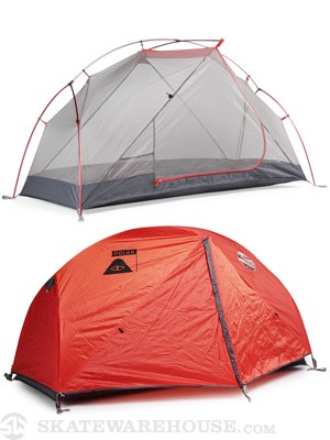 Poler One Man Tent Grey/Orange
