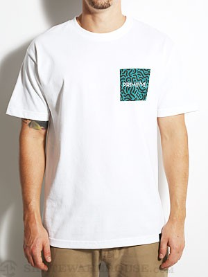 Primitive Sammy Tee White SM