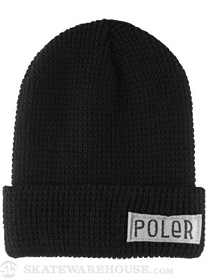 Poler Worker Man Beanie Black