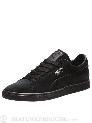 Puma Suede Classic Shoes  Black