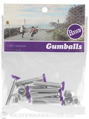 Penny Gumball Deck Bolts Purple
