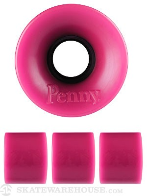 Penny Supersmooth 78A Pink Wheels 59mm
