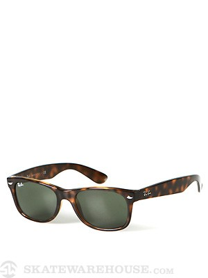 Ray Ban New Wayfarer  Tortoise/Crystal Green/52mm