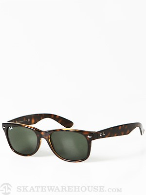 Ray Ban New Wayfarer  Tortoise/Crystal Green/55mm