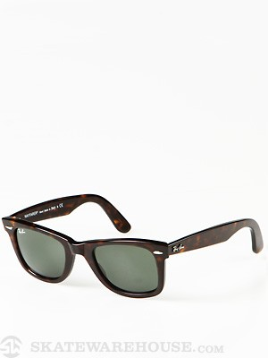 Ray Ban Original Wayfarer  Tortoise/Crystal Green/50mm