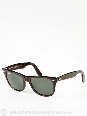 Ray Ban Original Wayfarer  Tortoise/Crystal Green/54mm