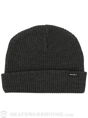 RVCA Fourtyfive Beanie Charcoal Heather