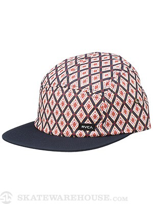 RVCA Alsweiler 5-Panel Hat Navy/NVY Adjust