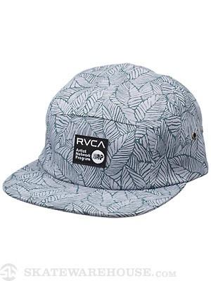 RVCA Ally 5-Panel Hat Blue/DUU Adjust