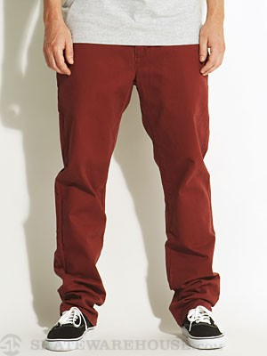 RVCA All Time Chino Pants Red Earth/RDE 28