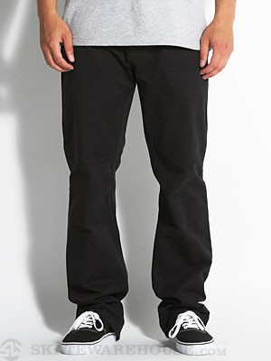 RVCA All Time Chino Pants Black 28