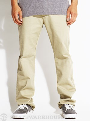 RVCA All Time Chino Pants Khaki/KHA 28