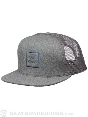 RVCA VA All The Way Felt Mesh Hat Graphite/GRH