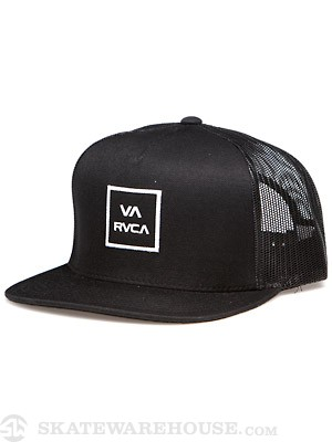 VA All the Way Mesh Hat Black Adj.