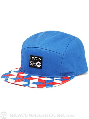 RVCA Barry 5-Panel Hat Red/White/Blue/RWB Adju