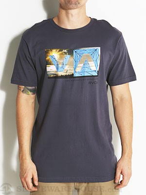 RVCA Balance Box 2 Tee Navy XL