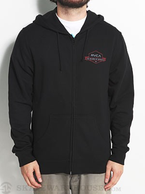 RVCA Banner Hex Hoodzip Black MD