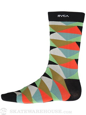 RVCA Barry Socks Multi