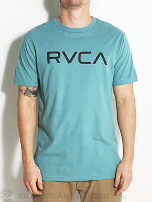 RVCA Big RVCA Tee Shoal Blue/SOA MD