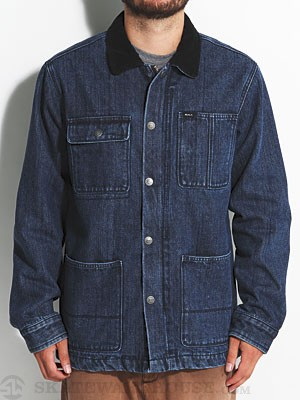 RVCA Barnstorm Jacket Dark Denim XL