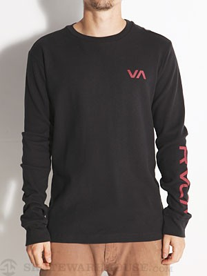 RVCA Basic VA Thermal Shirt Black MD