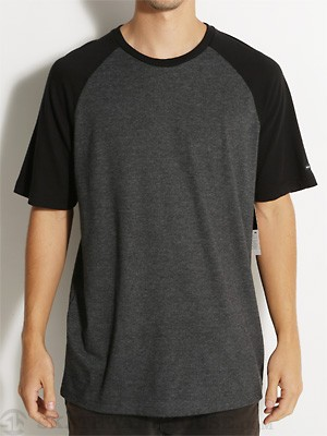 RVCA Camby Crew Knit Shirt Black SM