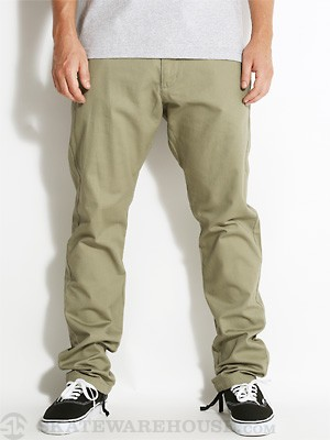 RVCA Charlie Pants Army Drab/AMD 30