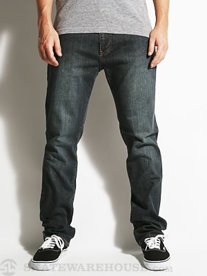 RVCA Daggers Extra Stretch Denim Dark Vintage 28