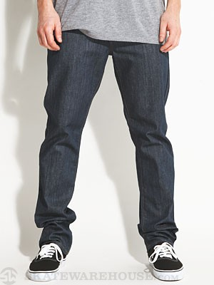 RVCA Daggers Extra Stretch Denim Classic Blue 28