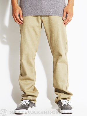 RVCA Daggers Colors Denim Khaki Salt/KHL 28