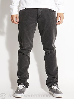 RVCA Daggers Denim Jeans Faded Black/FBK 28
