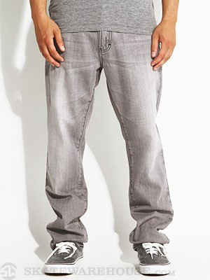 RVCA Daggers Denim Gray Ghost/GRG 28
