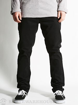 RVCA Dagger Twill Pants Black 28