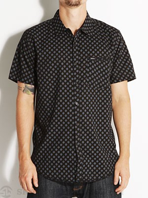 RVCA Drops S/S Woven Shirt Black MD