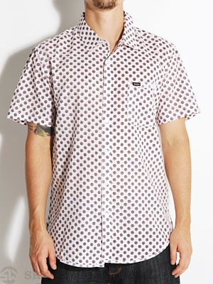 RVCA Drops S/S Woven Shirt White MD