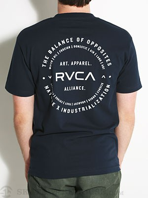 RVCA Dispatch Pocket Tee Navy XL
