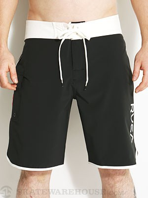 RVCA Eastern Trunk Boardshorts Vanilla/Black 28