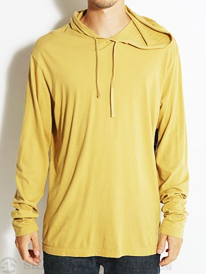 RVCA Embroidered Hooded Shirt Antelope/ATL SM