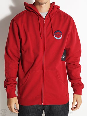 RVCA Eye RVCA Hoodzip Cardinal/CAR MD