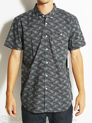 RVCA Fever Flower S/S Woven Shirt Coalmine/CNE SM