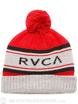 RVCA Game Day Beanie Red One Size