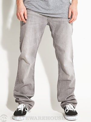 RVCA Regulars Denim Gray Ghost/GRG 28