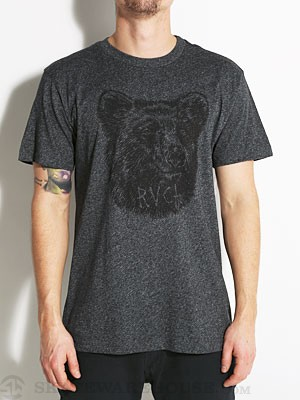 RVCA Grizzly Tee Black MD