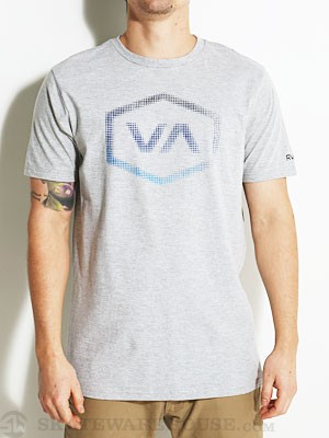 RVCA Halftone Hex Tee Athletic Heather SM