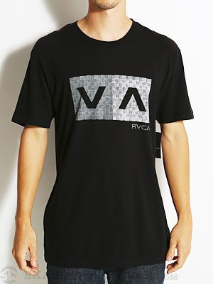 RVCA Hatch Box Vintage Wash Tee Black SM