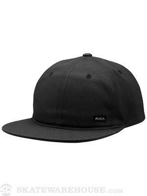RVCA Kontra Low Crown Hat Black Adj.