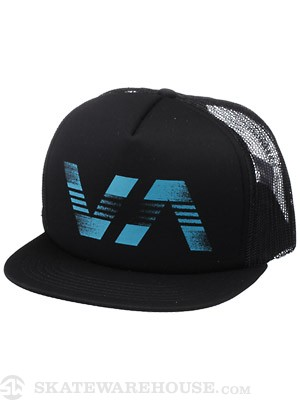 RVCA Loud And Proud Trucker Hat Black Adj.