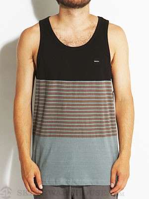 RVCA Layer Knit Tank Black XL