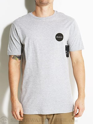 RVCA Motors Chest Tee Athletic Heather XXL